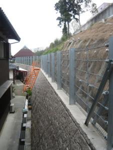 敏満寺地区急傾斜地崩壊対策